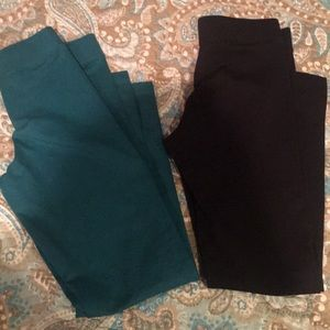 Set of 2 Primary leggings SZ8 Girls